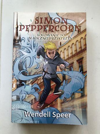 """""""Logowanie do magicznej przestrzeni"""" Simon Peppercorn"""