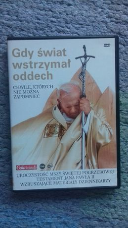"""film DVD """"Gdy świat wstrzymał oddech"""" Jan Paweł II"""