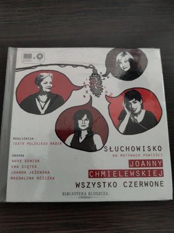 """Audiobook Słuchowisko Joanny Chmielewskiej """"Wszystko Czerwone"""""""