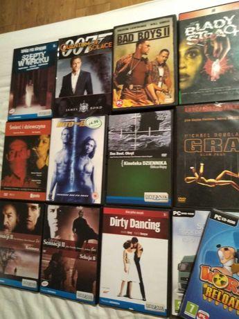 11 filmów na DVD plus dwie gry na PC