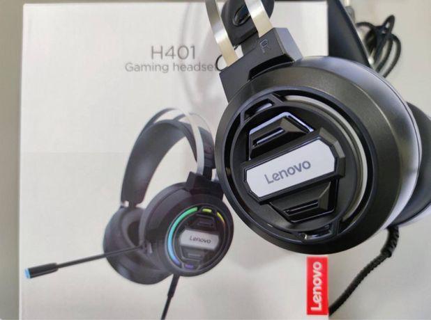 Игровые наушники Lenovo H401