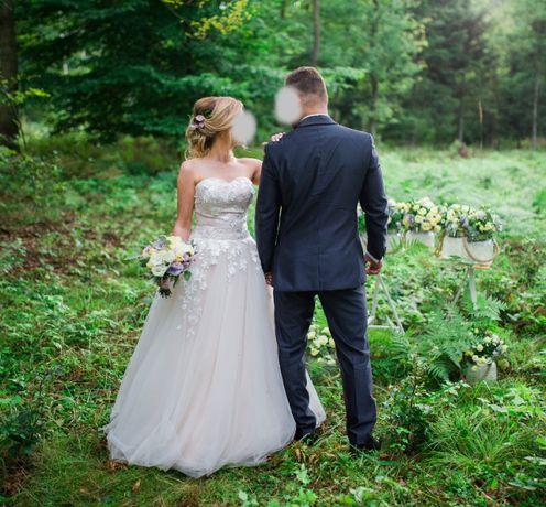 Suknia ślubna gorąco polecam