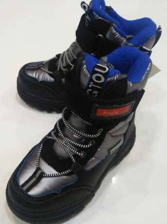 Стильные термо ботинки для мальчика //Tom.m// р. 27-32