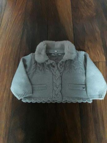 Sweterek, spodnie, bolerko zestaw paka