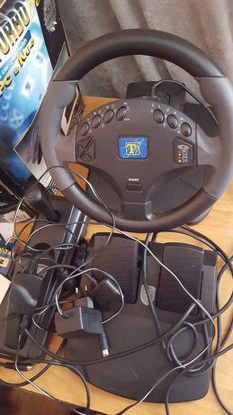 Kierownica Twin Turbo Deluxe do do PC, PSX, PSX 2 i N64