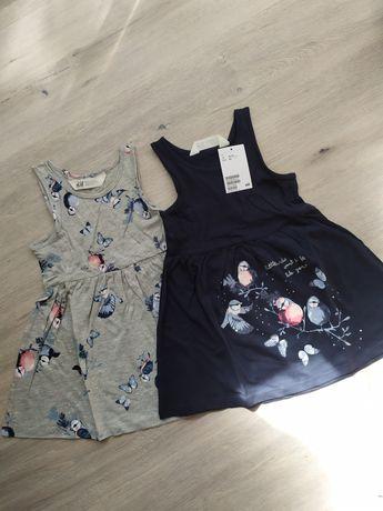 Новый набор платьев, платье hm, н&м 4-6лет