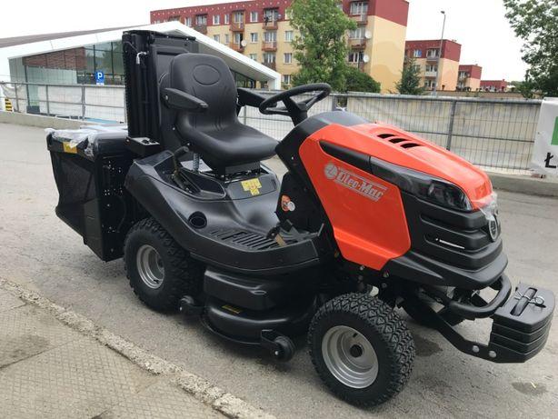 Traktorek kosiarka OLEO MAC 22 KM Kosz 400L WYSOKI WYSYP Profesjonalny