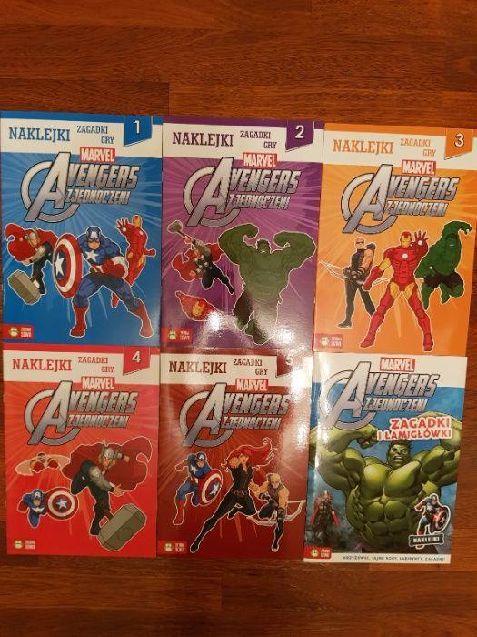 Marvel Avengers Zjednoczeni cz. 1-5 + dodatek Warszawa - image 1