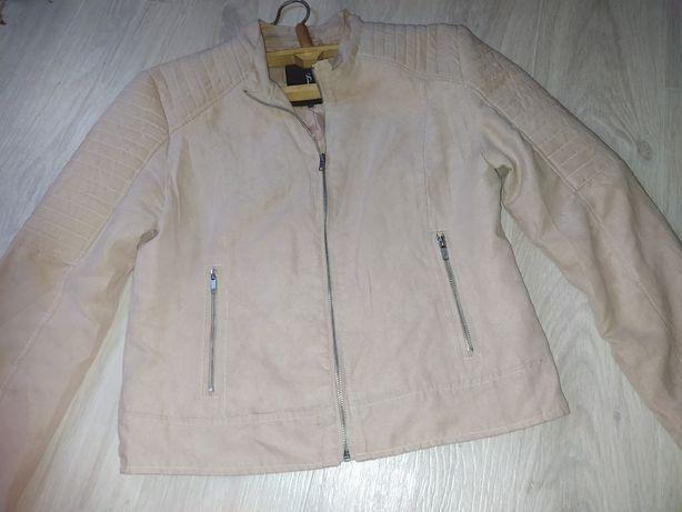 Женская куртка замш