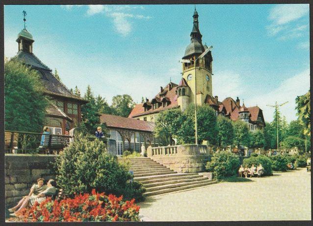 pocztówka - Świeradów Zdrój 1972 - dom zdrojowy