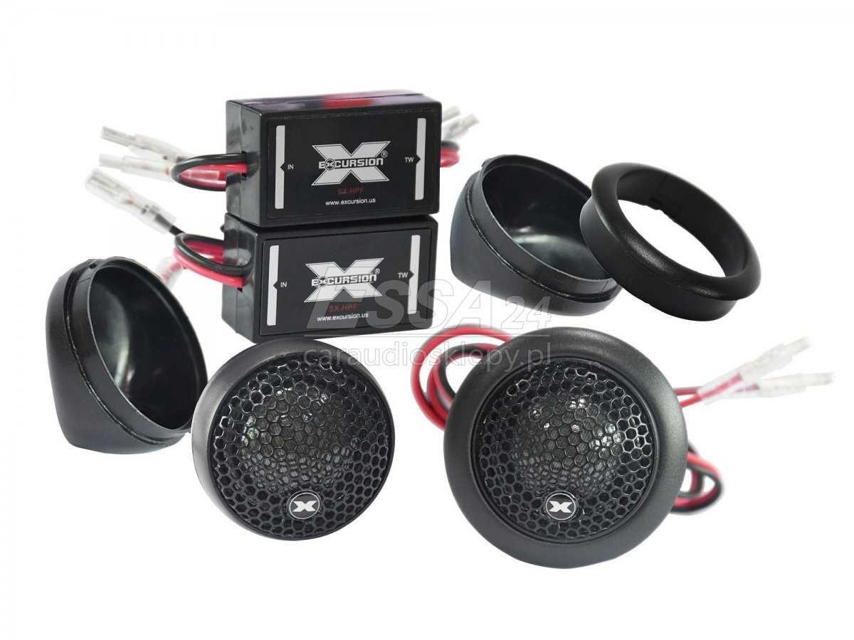 Excursion SX-1S - głośniki wysokotonowe 25mm Kielce, możliwy montaż