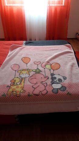Cobertor para bebé novo