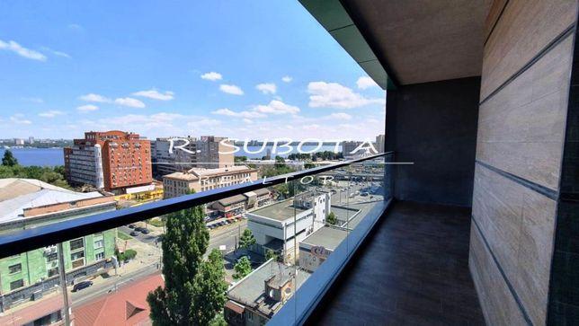 Квартира с террасой и панорамным видом на р. Днепр. Центр. Новострой