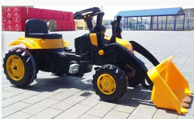 Турция! Трактор педальный Экскаватор с ковшом, цепной на педалях