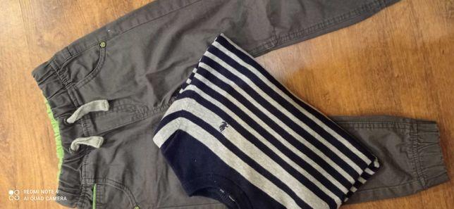 Spodnie sweter cool club smyk chłopiec 110 zestaw bluzka