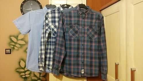 Koszula chłopięca (rozmiar 164-3szt)