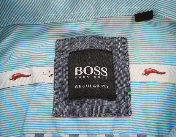 Hugo Boss рубашка regular fit Оригинал размер L