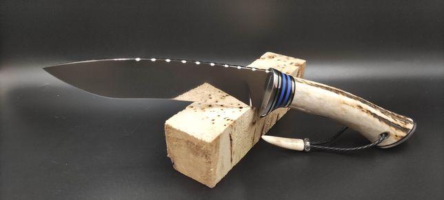 Nóż kolekcjonersko-użytkowy ręcznie robiony typu kukri
