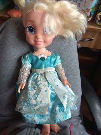 Кукла Эльза холодное сердце говорящая на 2 языках
