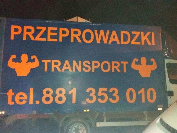 Przeprowadzki Transport ,utylizacja wywóz starych mebli