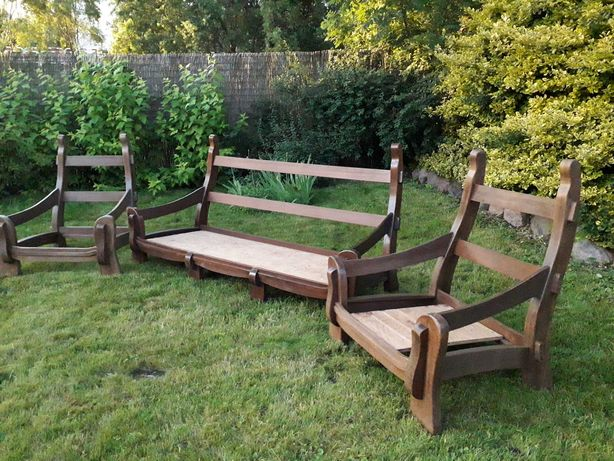 Konstrukcja kanapy i foteli
