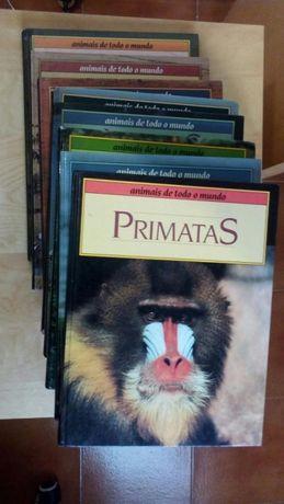 8 livros da colecção Animais de todo o Mundo, Circulo de Leitores.