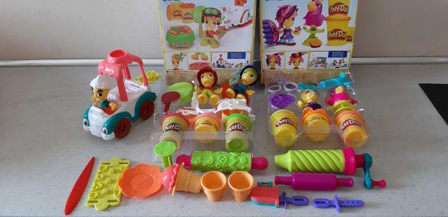 Play Doh Town plastelina duży zestaw figurki, akcesoria i pojazdy