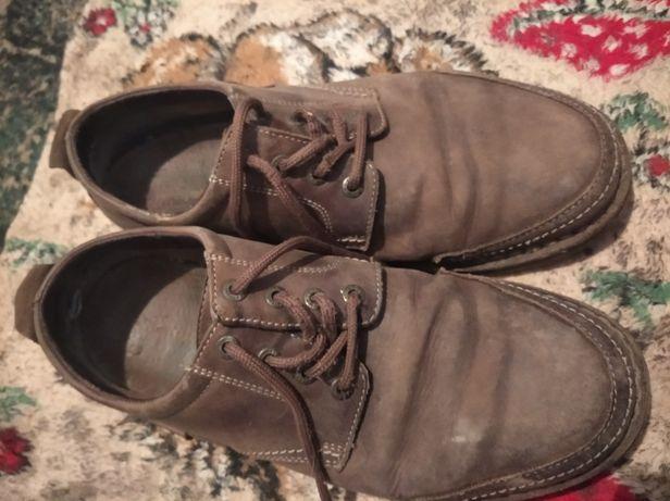 Туфли мужские коричневого цвета в хорошем состоянии 46 размера.Прод