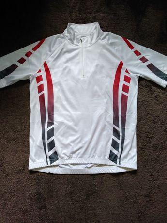 Koszulka rowerowa roz. L biała
