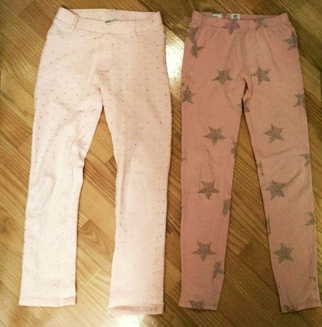 14zł komplet spodni/legginsów rozmiar 134-140,Gap kids i H&M