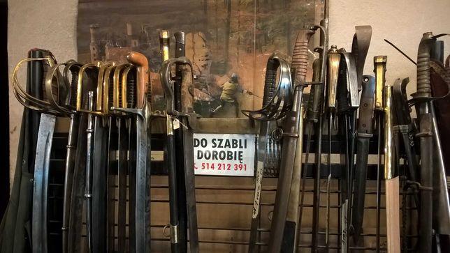 Szabla Szable Pochwa Miecza Do Szabli Dorobie Klinga Głownia Renowacja