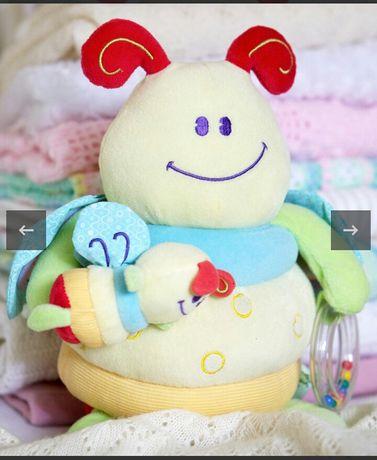 Погремушка іграшка шелест текстурна Little bird bee