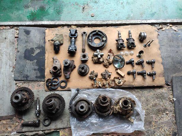 Рулевые наконечники, Кардан, Помпа, масляной насос  для авто Газ, Уаз