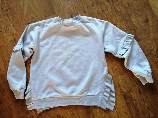 Reserved bluza falbanki 140