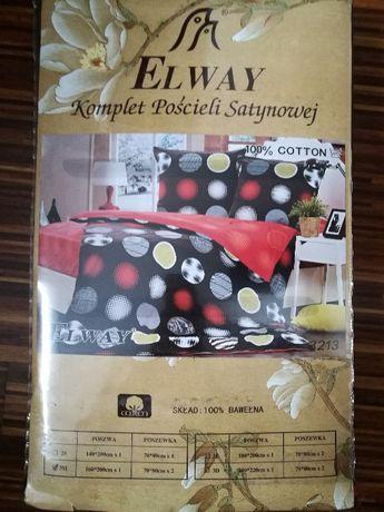 NOWA pościel satynowa 100% bawełny 160x200 cm