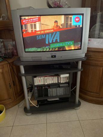 Conjunto Tv e movel thomson