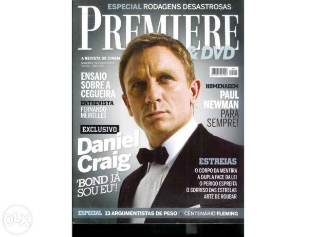Premiere nº 2 Novembro 2008 - Capa Daniel Craig 007 (Portes Incluídos)