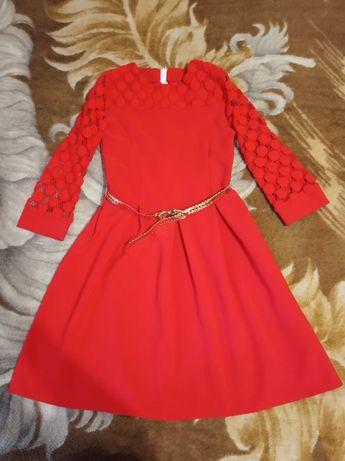 Подростковое платье на рост 136-146