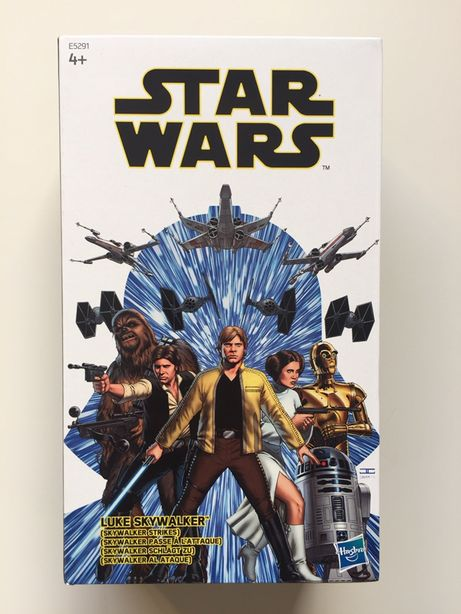 Star Wars Black Series Skywalker Strikes Comic Con 2019
