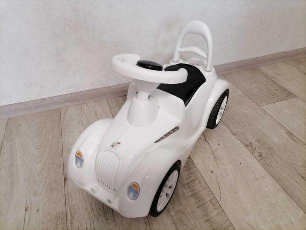 Детская машинка каталка толокар белая