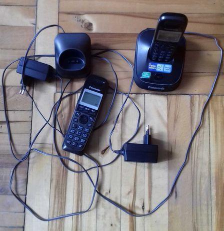 Продам цифровой радиотелефон Panasonic с 2-мя  беспроводными трубками.