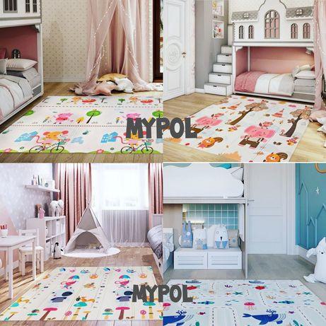 Детский коврик, коврик пазл, складной коврик 2*1,8 м /1,5 м