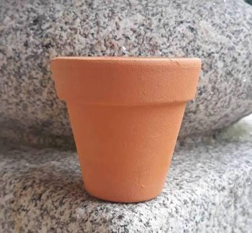 Vasos Vasinhos Barro 5 a 8cm pa Suculentas Catos Flores Ervas Aromatic