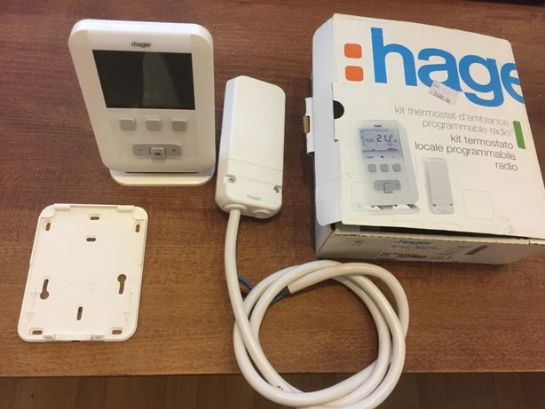 Терморегулятор цифровий багатофункціональний «Hager» EK560 з радіо ке