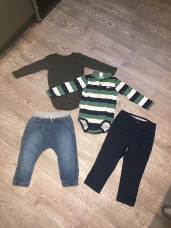 Одежда на мальчика 12-18 мес , пакет вещей 4 единицы
