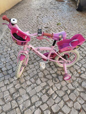 Bicicleta menina roda 14