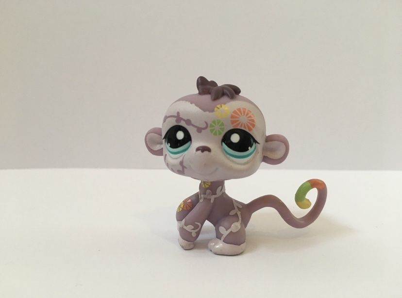 LPS Littlest Pest Shop - figurka małpka Pszczyna - image 1