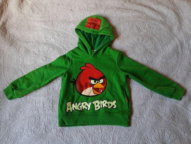 Zielona bluza Angry Birds r.98