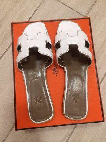Шлепки Hermes , эрме , женская обувь