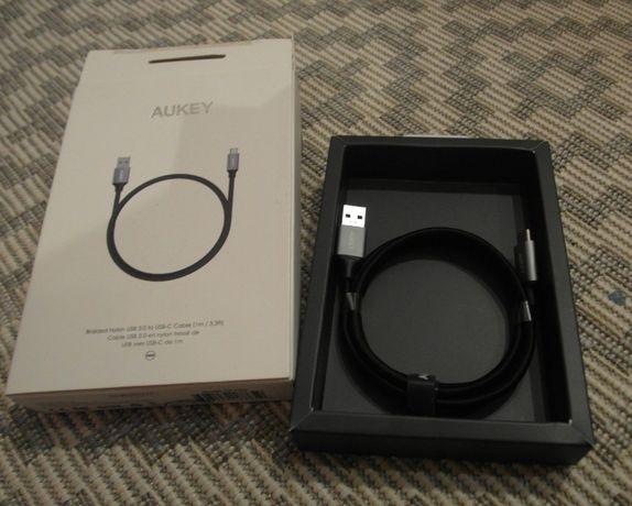 AUKEY CB-CD2 nylonowy ultraszybki kabel QC USB-C